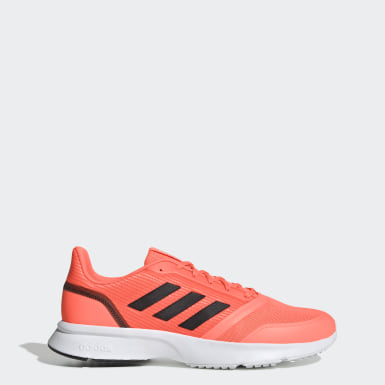 Men Running Orange Nova Flow Shoes