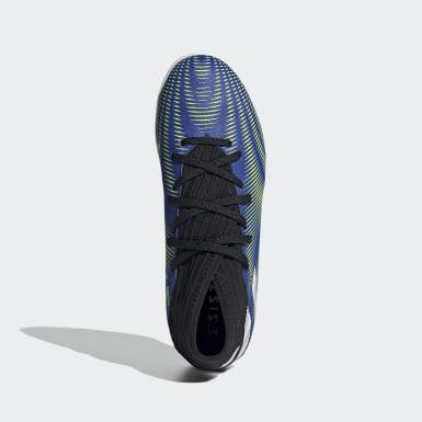 Children Soccer Blue Nemeziz.3 Indoor Shoes