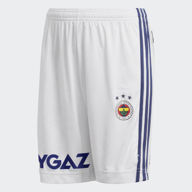 Youth Football White Fenerbahçe SK 20/21 Home Shorts