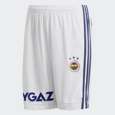 Genç Futbol White Fenerbahçe SK 20/21 İç Saha Şortu