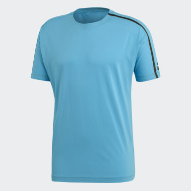 Erkek Athletics Turkuaz adidas Z.N.E. Tişört