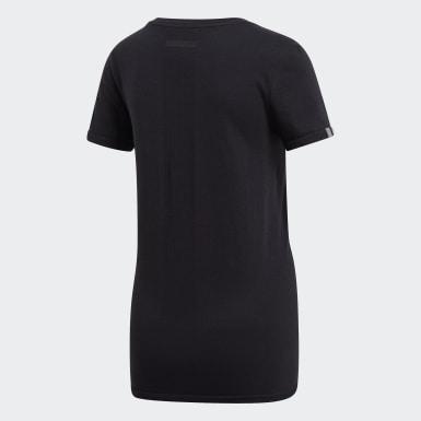 Camiseta 25/7 Negro Mujer Running