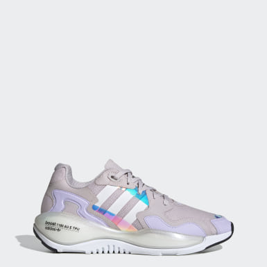 Women Originals Purple ZX Alkyne Shoes