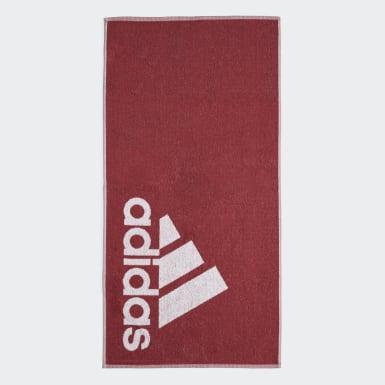 Zwemmen Rood adidas Handdoek Small