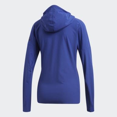 синий Куртка для бега adidas Z.N.E.