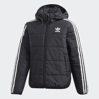 черный Куртка PADDED
