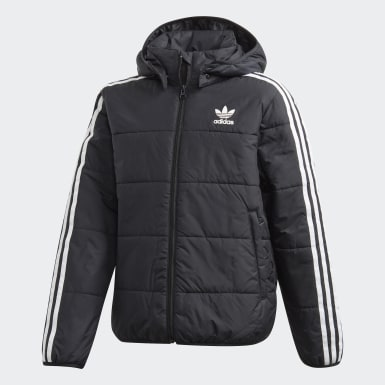 Kids Originals Black Padded Jacket