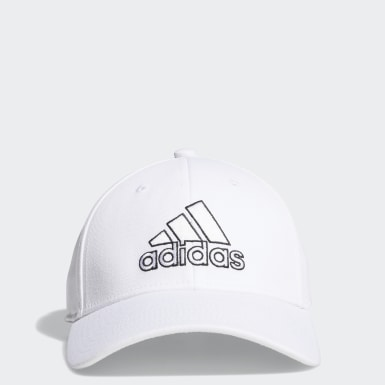 Men Training White Producer Stretch-Fit Cap