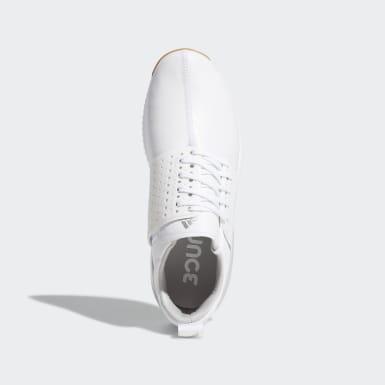Men Golf White Adicross Bounce Shoes