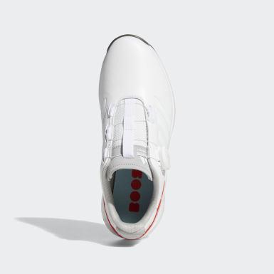 Women Golf White EQT BOA Golf Shoes
