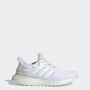 Women Running White Ultraboost DNA Shoes