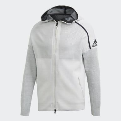 Erkek Athletics Beyaz adidas Z.N.E. Parley Hoodie