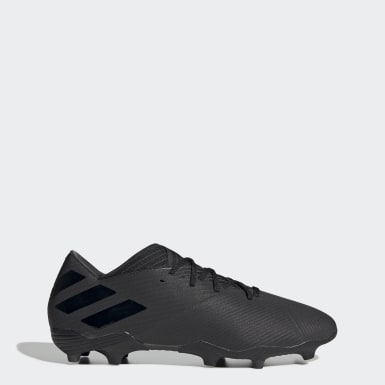 Football Black Nemeziz 19.2 Firm Ground Boots