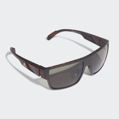 Running Brown Sport Sunglasses SP0006