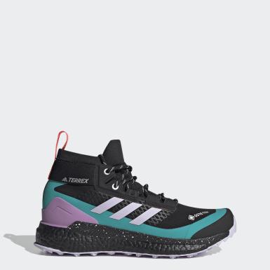Sapatos de Caminhada Free Hiker GTX TERREX Preto Mulher TERREX