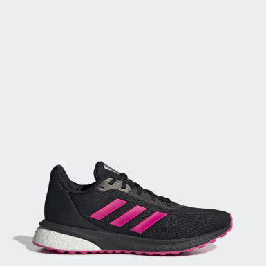 Women Running Black Astrarun Shoes