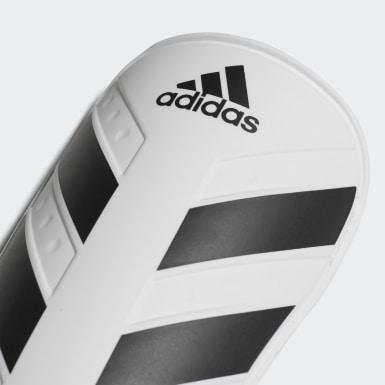Fußball Everlite Schienbeinschoner Weiß
