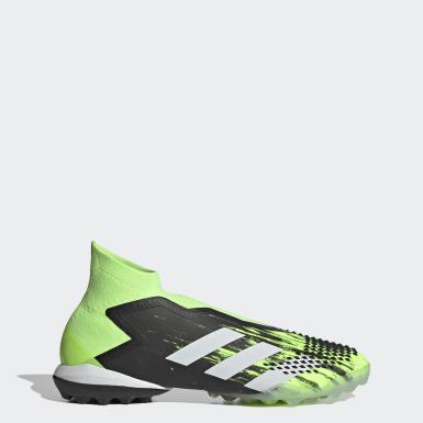Men's Soccer Green Predator Mutator 20+ Turf Shoes