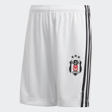 Genç Futbol Beyaz Beşiktaş JK 20/21 İç Saha Şortu