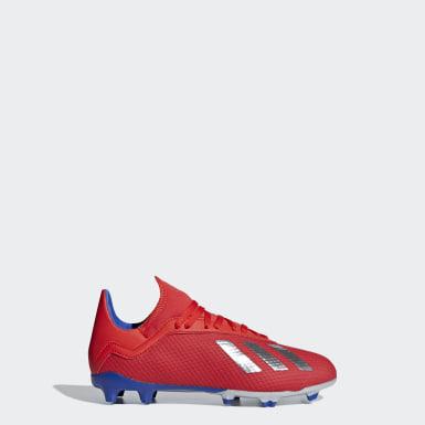 красный Футбольные бутсы X 18.3 FG