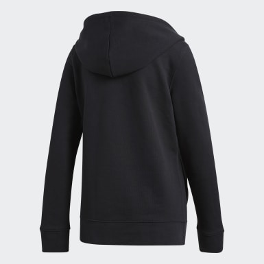 Kvinder Originals Sort Trefoil hoodie