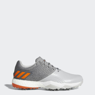 Men Golf Grey Adipower 4orged Wide Shoes