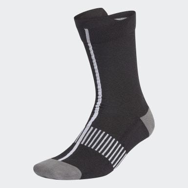 ผู้หญิง เทรนนิง สีดำ ถุงเท้า Ultralight Crew Performance