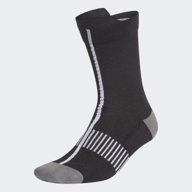 Women Training Black Ultralight Crew Performance Socks