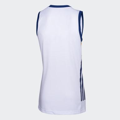 Camiseta de Básquet suplente de Boca Juniors Blanco Hombre Básquet
