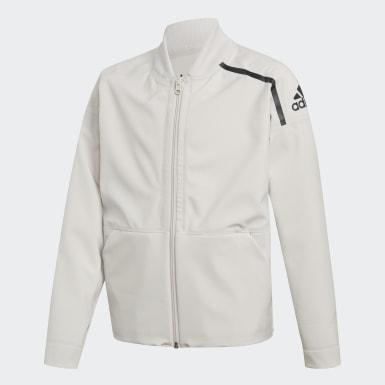 Veste adidas Z.N.E. Reversible Bomber Blanc Enfants Athletics