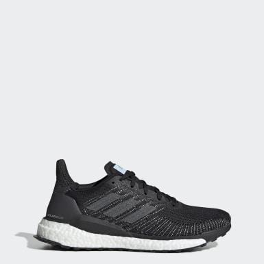 Women Running Black Solarboost 19 Shoes