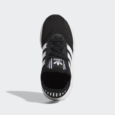 Children Originals Black Swift Run X Shoes