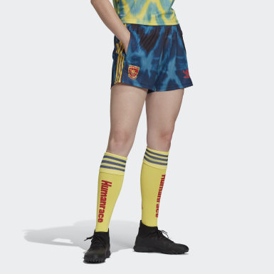 Dames Voetbal Geel Arsenal Human Race Short