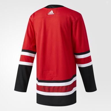 Maillot Hurricanes Domicile Authentique Pro rouge Hockey
