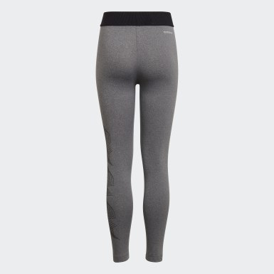 Leggings AEROREADY UP2MV Preto Raparigas Estúdio