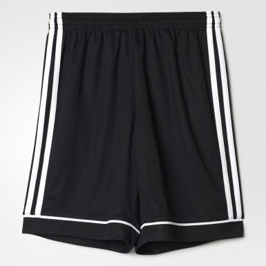 Shorts Squadra 17 Negro Niño Fútbol