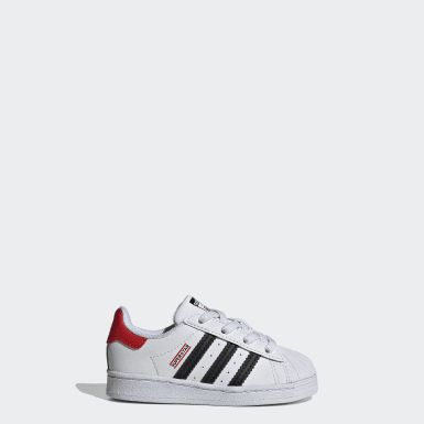 Kids Originals White Superstar Run-DMC Shoes