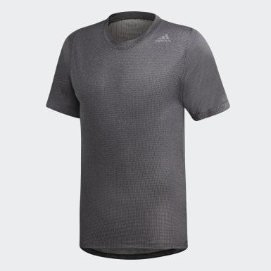 Erkek Training Siyah FreeLift 360 Climachill Vücuda Oturan Tişört