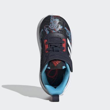 Infants เทรนนิง สีน้ำเงิน รองเท้า Marvel Spider-Man FortaRun