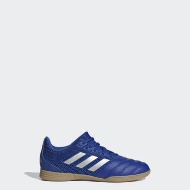 Children Soccer Blue Copa 20.3 Sala Indoor Shoes