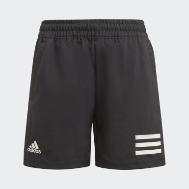 Boys Tennis Svart Club Tennis 3-Stripes Shorts
