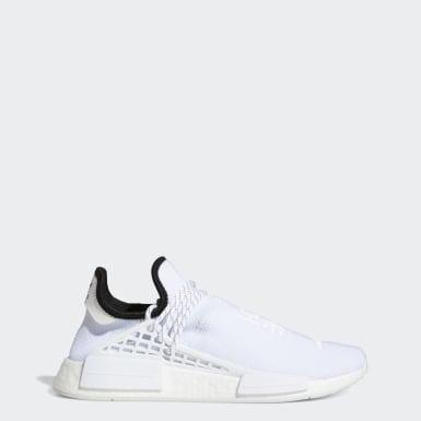 Chaussure HU NMD Blanc Hommes Originals