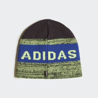 Kinder Wintersport Graphic Mütze Blau