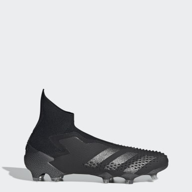 Men's Soccer Black Predator Mutator 20+ Firm Ground Cleats