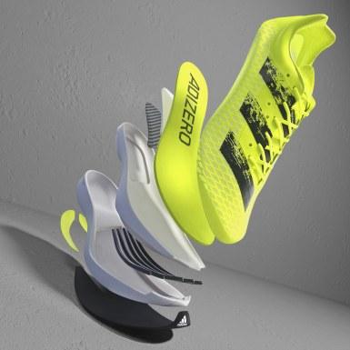 Sapatos Adizero Adios Pro Amarelo Running