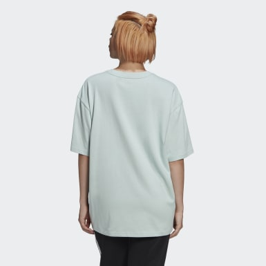 Women Originals Green Oversize Tee