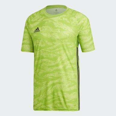 Camiseta de Arquero AdiPro 19 Verde Hombre Fútbol