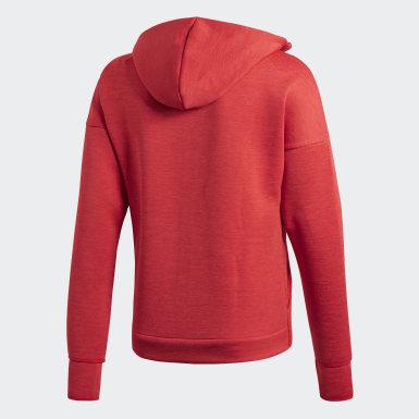Mænd Fodbold Rød Real Madrid adidas Z.N.E. hoodie