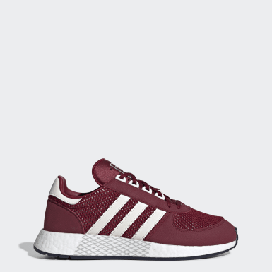 Tenis Marathon Tech Burgundy Hombre Originals