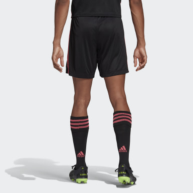 Men Football Black Real Madrid 20/21 Third Shorts